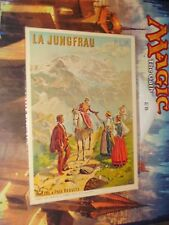 La Jungfrau French Railroad Train Poster Art Advertising Billets a Prix Reduits