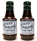 Sticky Fingers® Smokehouse Barbecue Sauce®: Memphis Original (2 Pack) 18 oz Size