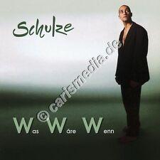 CD: WAS WÄRE WENN (Schulze) - Deutsch-Rock christlicher Musiker *NEU*