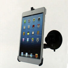 For Apple iPad Mini New Black Car Suction Mount Holder Stand Kit Cradle