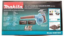 NEW IN BOX Makita 18V DUB182 LXT Cordless Battery Blower 18 Volt