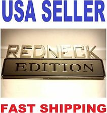 REDNECK EDITION ROLLS ROYCE EMBLEM BENTLEY LOGO maserati decal BOAT badge SIGN