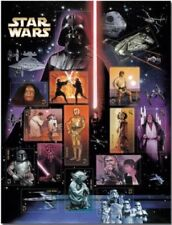 Star Wars 2007 Anniversary stamp sheet of 15 stamps - MNH Free Shipping