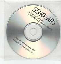(ET312) Scholars, Bad For Business - 2012 DJ CD