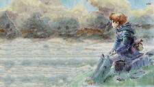 "344 Hot Anime Cartoon Character - Nausicaa of the Valley Wind 43""x24"" Poster"