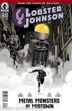 Lobster Johnson Metal Monsters Of Midtown #1 (Of 3) Comic Book 2016 - Dark Horse