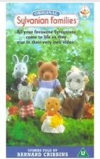 SYLVANIAN FAMILIES VIDEO VHS RARE CHILDRENS CARTOON BERNARD CRIBBINS