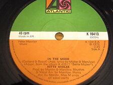 """BETTE MIDLER - IN THE MOOD   7"""" VINYL"""