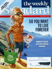 2014 The Weekly Standard Magazine: Charlotte Allen the Life-Extension Movement