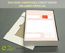 250 SAGE compatibile note di credito su Carta LASER A4 210 x297mm