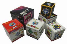Black Shengshou speed magic cube Twist puzzle 6 of a set 2x2 3x3 4x4 5x5 6x6 7x7