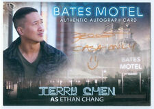 "TERRY CHEN ""ETHAN CHANG CASH ONLY =) AUTOGRAPH CARD"" BATES MOTEL SEASON 1"