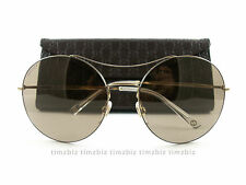 New Gucci Sunglasses GG 4252/s J5GXS Gold Brown Authentic