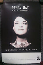 Music Poster Promo Gemma Ray ~ Milk For Your Motors