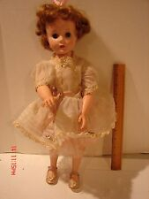 VINTAGE 17 INCH AMERICAN CHARACTER DOLL SWEET SUE DRESS CLOTHING EYES OPEN CLOSE