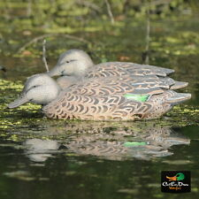 AVERY GREENHEAD GEAR GHG PRO GRADE GREEN WINGED TEAL EARLY SEASON HEN DECOYS 6