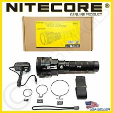 GENUINE Nitecore TM36 LED Luminus Long Range Flashlight-NBP52 Battery-1800 Lumen