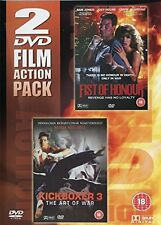 Fist Of Honour / Kickboxer 3 DVD, New and Sealed