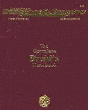 The Complete Druid's Handbook (AD&D 2nd Ed Rules Supplement) by David Pulver