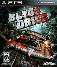 **~* PS3 Video Game - Blood Drive (Sony PlayStation 3) *~**