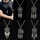 Retro Dream Catcher Pendant Long Chain Necklace Sweater Chain Jewelry BOHO HOT
