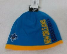 NEW ORLEANS HORNETS NBA SIDE LOGO WINTER FITTED KNIT ADIDAS BEANIE HAT NWT OSFM