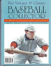 The Vintage & Classic Baseball Collector VCBC issue #12, September-October 1997