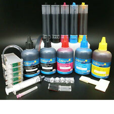 Non-OEM Bulk Ink System with Refill Ink Set for Epson Workforce 1100 C120 CIS