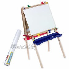 Melissa & Doug Child Art Easel + Bonus Paper Roll - 1282 & 1486 Painting Crafts