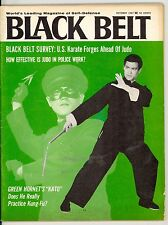 10/67 Black Belt Magazine Kato Bruce Lee Cover  Rare