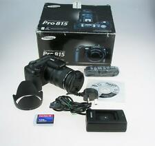Samsung Pro 815 Digital Camera Boxed with accessories