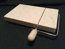 Marble Cheese Slicer Cutting Board Wire Cutter