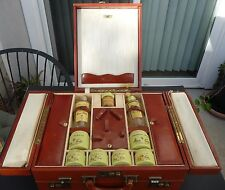 Marie Earle Vintage 1940's Travel Case Makeup Multi Compartments Suitcase