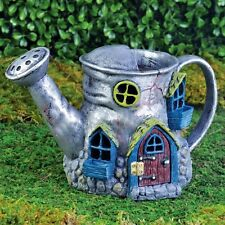 Miniature Garden Fairy House Old Watering 16534 Can NOW W HINGED DOOR Cottage