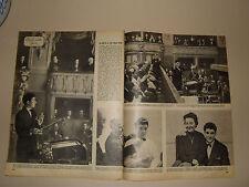 ROBERTO BENZI DIRETTORE D'ORCHESTRA clipping ritaglio articolo foto photo 1957