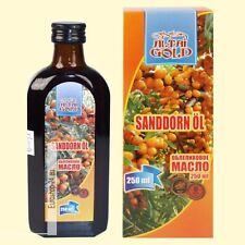 Öl Altai Gold, 250 ml Fruchtfleisch von Sanddorn, Sanddornöl Naturprodukt, масло