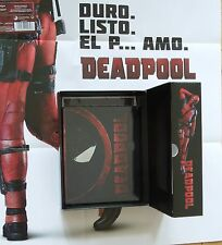 SPECIAL BUNDLE : MARVEL'S DEADPOOL BLU-RAY STEELBOOK + GIFTBOX WITH GOODIES
