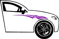 PINSTRIPING GRAPHIC VINYL DECAL FOR SIDE CAR OR TRUCK