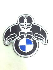 BMW LOGO IRON ON PATCH WING T-SHIRT JEANS CAP HAT JACKETS MOTORCYCLES