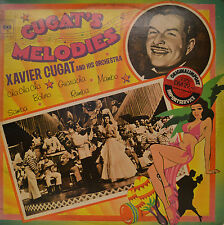 """XAVIER CUGAT AND HIS ORCHESTRA - CUGAT´S MELODIES 12"""" 2 LP  (P611)"""