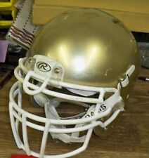 RAWLINGS IMPULSE ADULT FOOTBALL HELMET - LARGE - N.D. GOLD