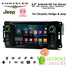 "6.2"" Android HD WiFi Bluetooth navigatore satellitare USB SD Autoradio For"