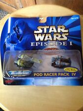 Nib But Box Shows Some Wear, Star Wars Episode 1 Pod Racer Pack IV Micro Machine