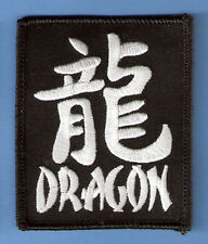 CHINESE NEW YEAR CALENDAR YEAR OF DRAGON IRON ON PATCH