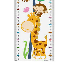 Removable Growth Chart Height Chart Giraffe Wall Decal Sticker Kids Baby