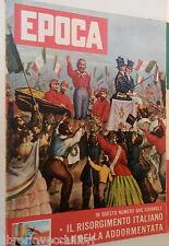 EPOCA 9 agosto 1959 Camorra a Pago Fred Buscaglione Assedio di Gaeta Dominguin