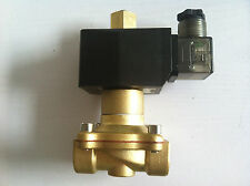 """Normal Open  220V AC 3/4"""" Electric Solenoid Valve Water Air N/O"""