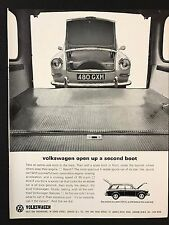 Vintage 1964 Motor Sport Magazine Advert - CASTROL OIL Featuring Ford Corsair GT