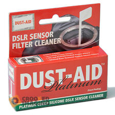Dust-aid Platinum digital DSLR cámara CCD sensor de secado Kit De Limpieza-Uk