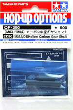 Tamiya 53390 (OP390) (M03/ M04) Hollow Carbon Gear Shaft